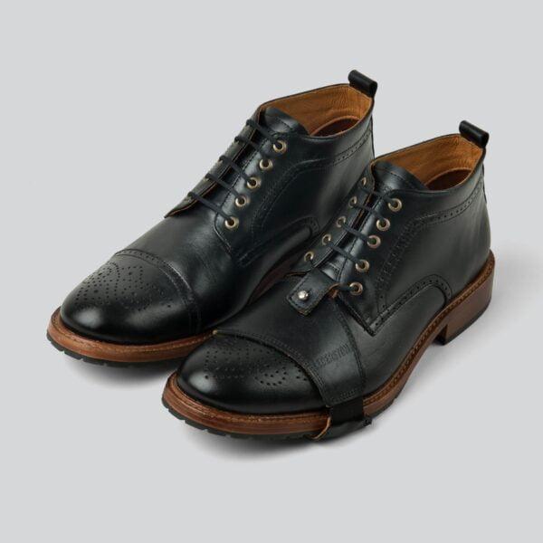 Zapatos Copeland Negro - Lederston